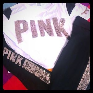 PINK Victoria's Secret Pants - VS pink set